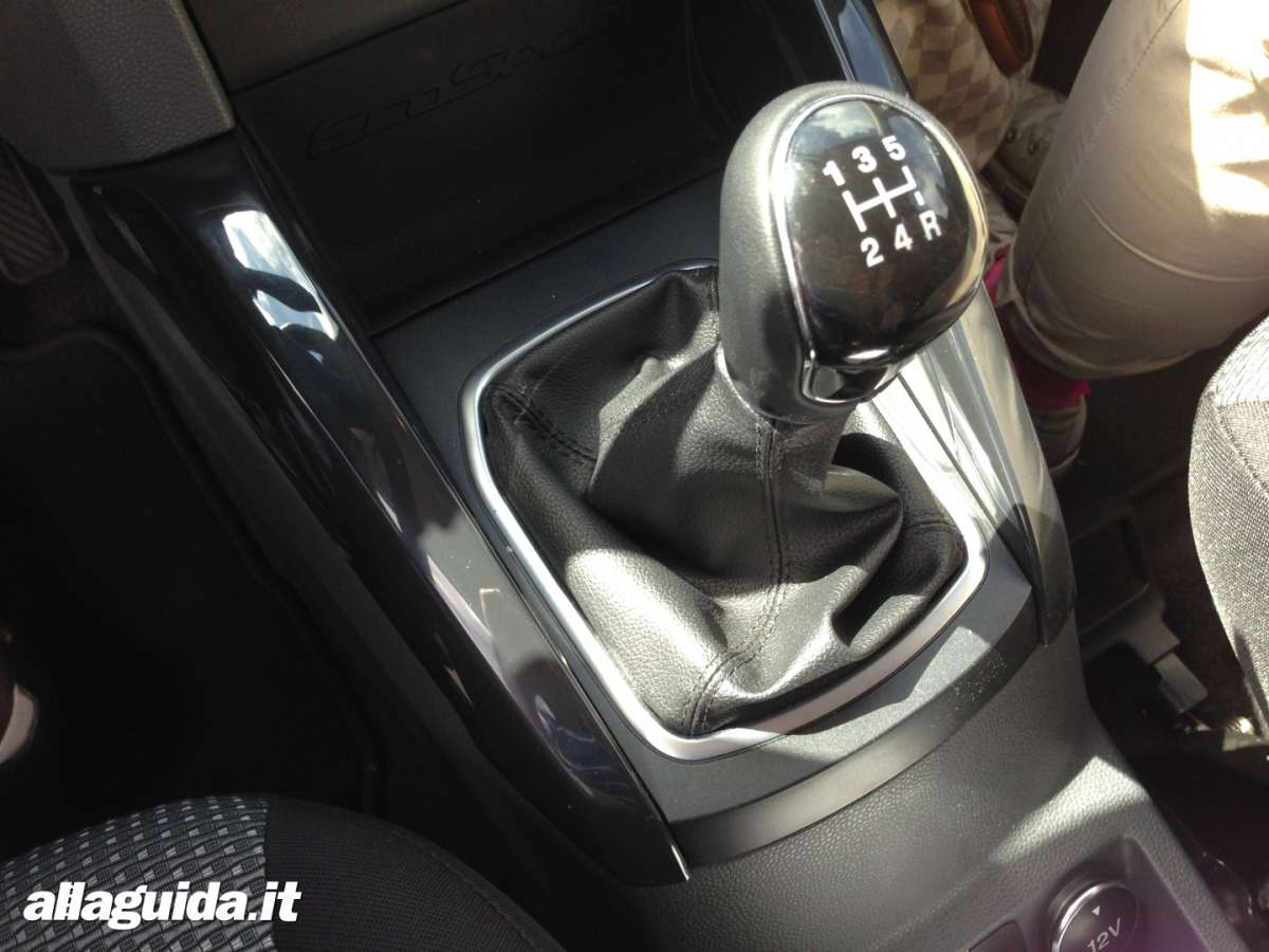 Ford EcoSport cambio manuale