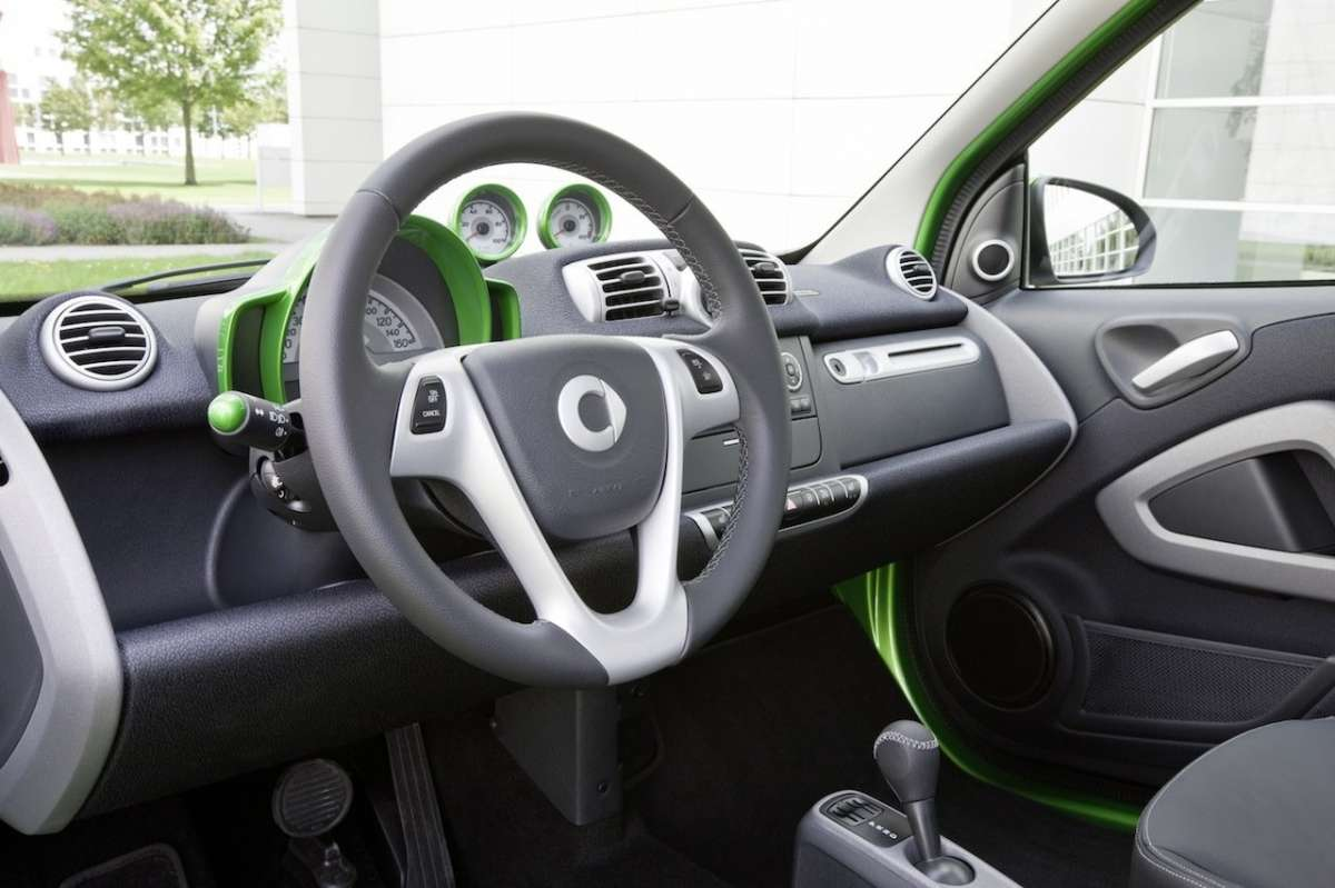 abitacolo Smart ForTwo Electric Drive