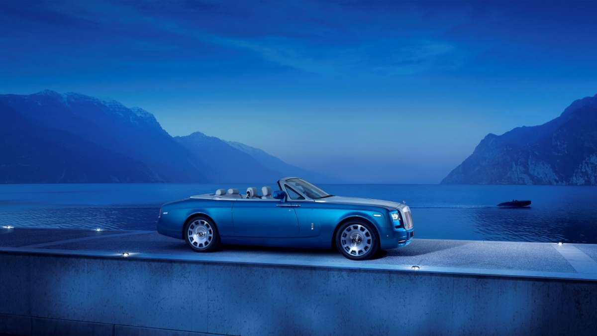 Rolls Royce Phantom Drophead coupe Waterspeed