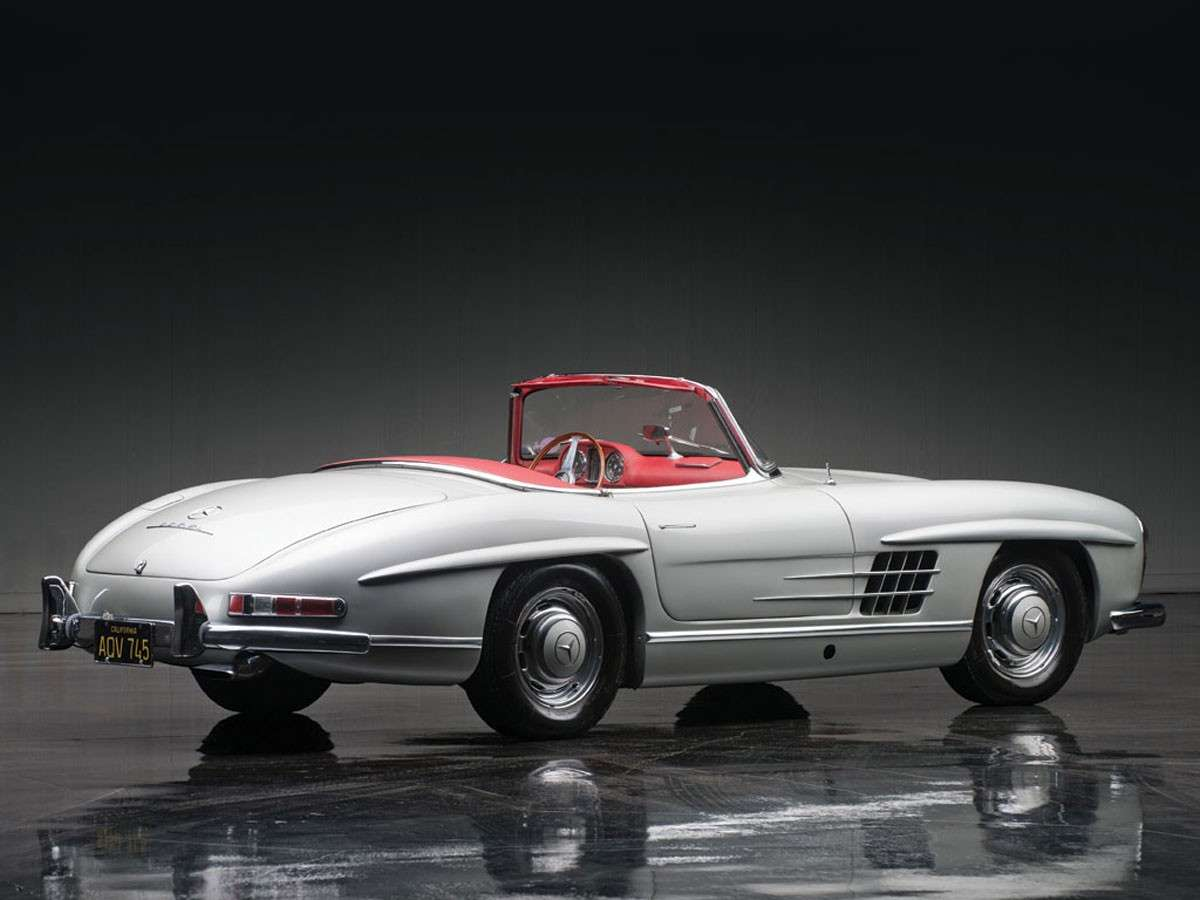 Mercedes Benz 300 SL Roadster Laterale Posteriore