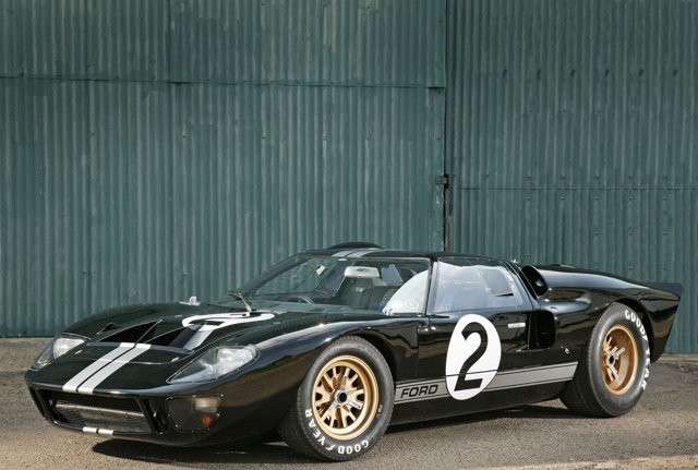 Ford GT 40 lateriale anteriore