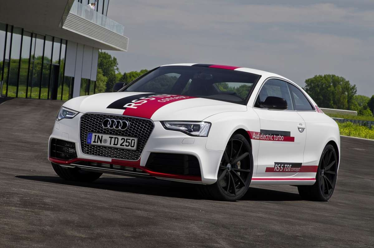 Audi RS5, electric turbo