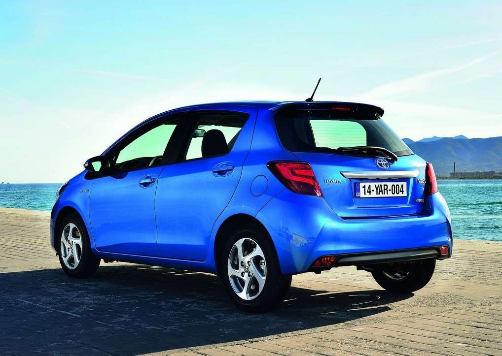 posteriore Toyota Yaris restyling