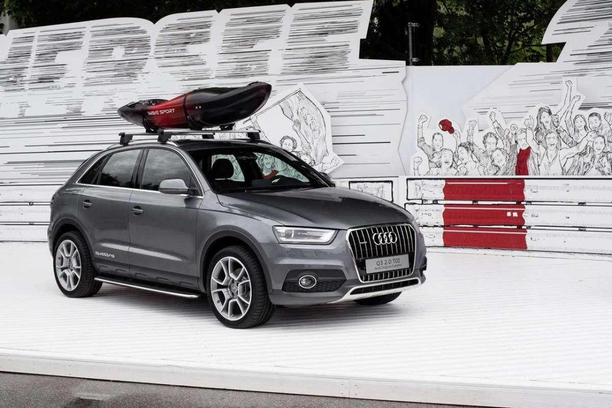 Audi Q3 Camping Tent frontale