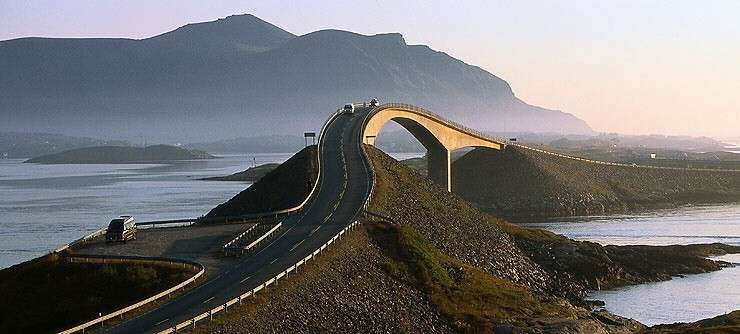 Atlantic Road ponte
