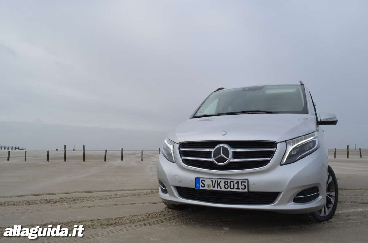 Frontale Mercedes Classe V 2014