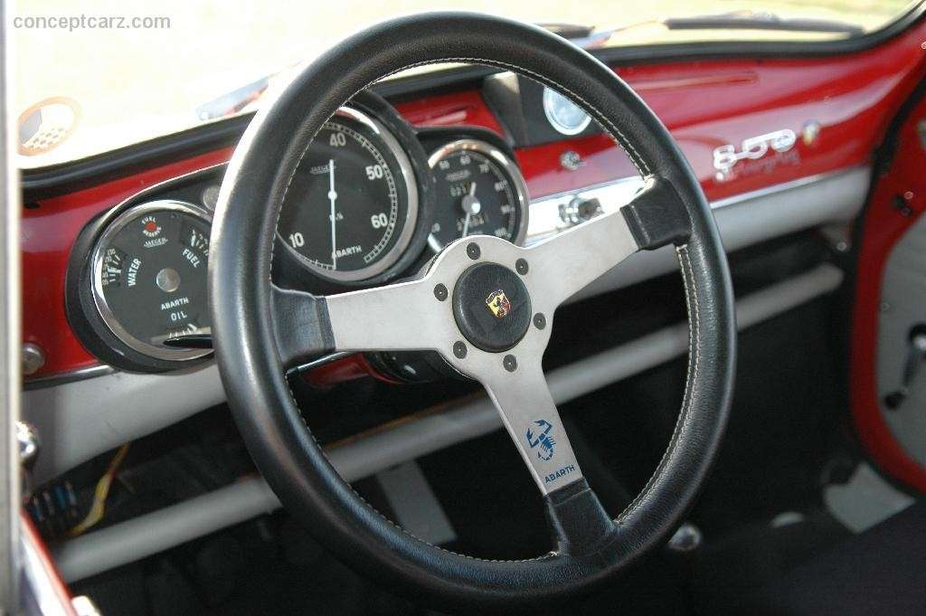 Abarth 850 TC interni
