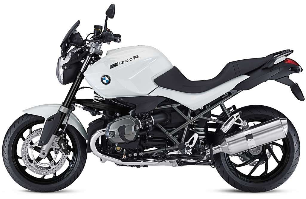 BMW R 1200 R Dark White 2014