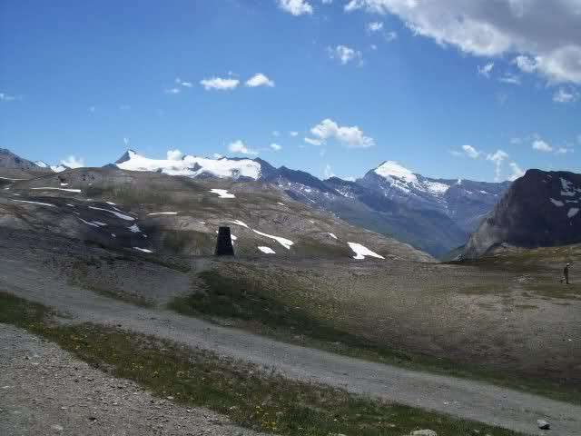 Colle dell'Iseran panorama