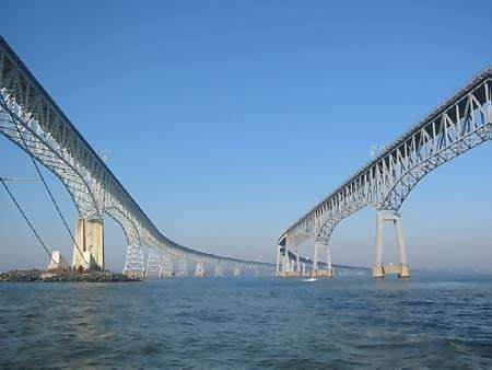 Chesapeake Bay Bridge - Tunnel strutture gemelle