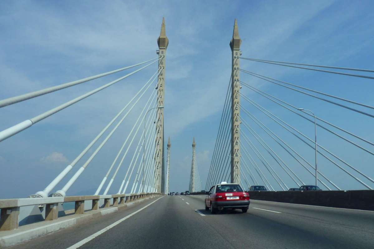 Penang Bridge a bordo