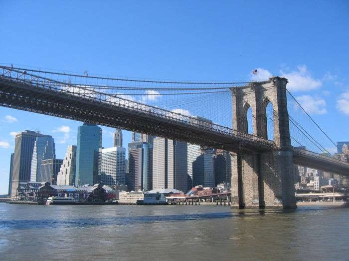 Brooklyn Bridge lato