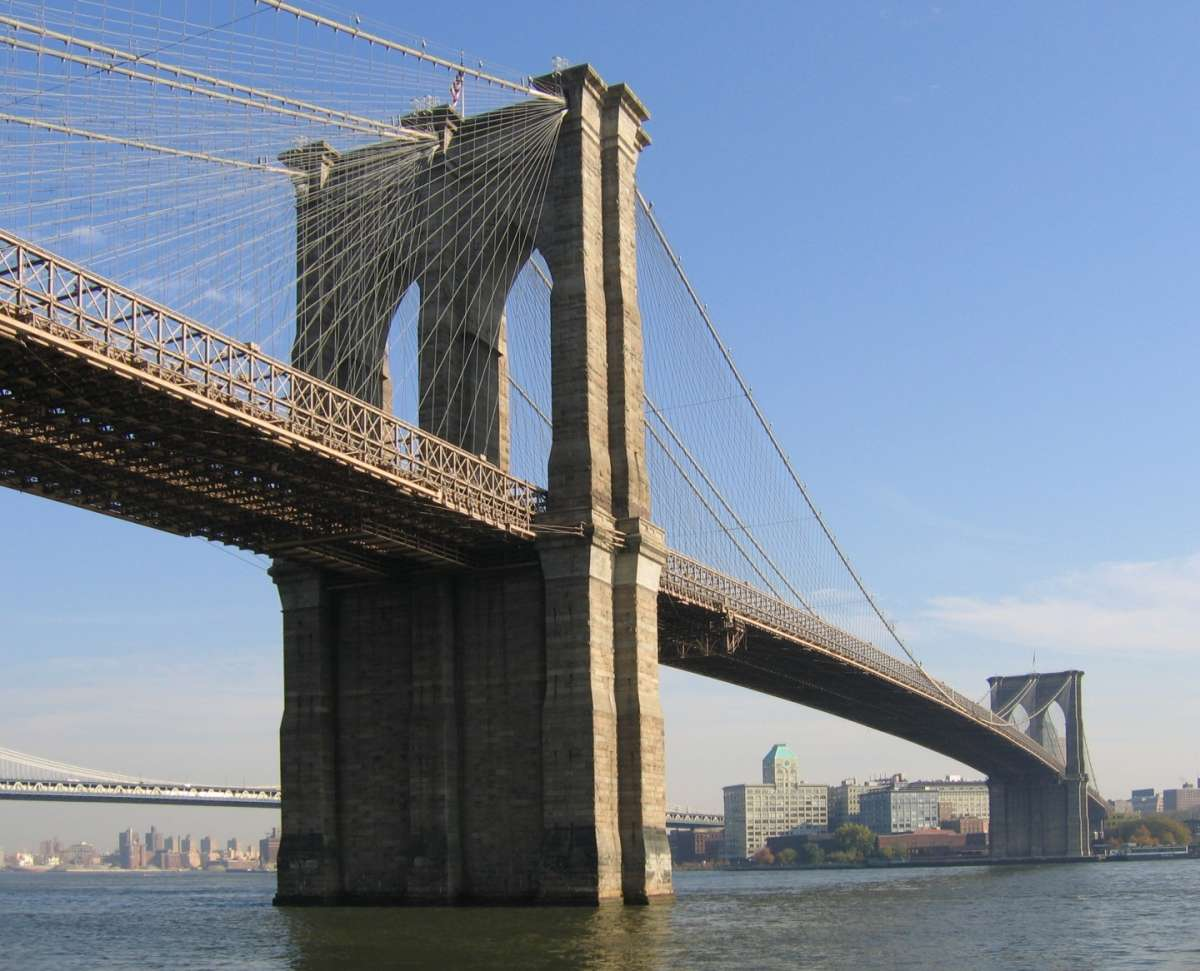 Brooklyn Bridge pilone