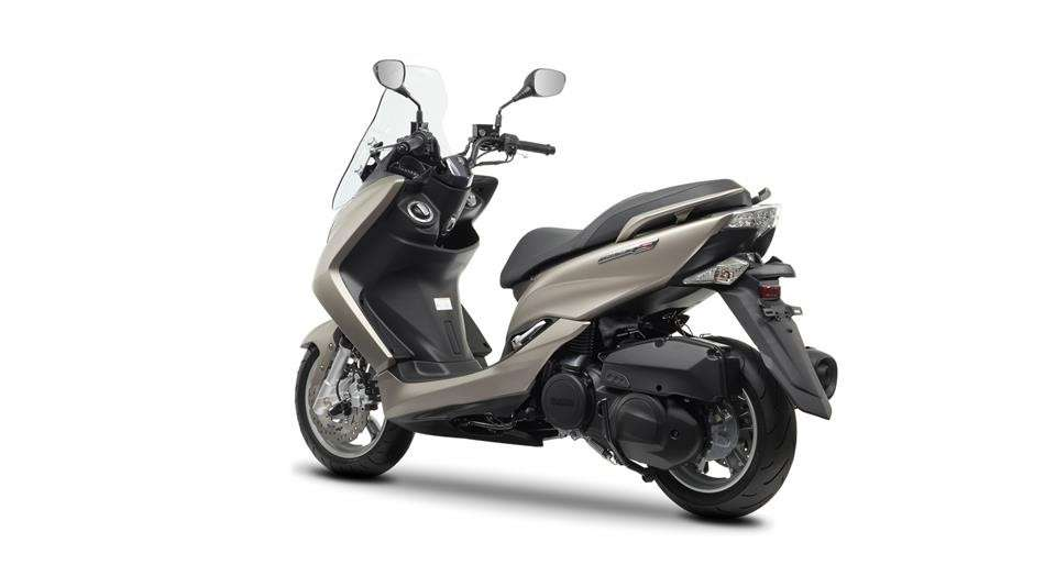 Posteriore del Yamaha Majesty S 125 2014