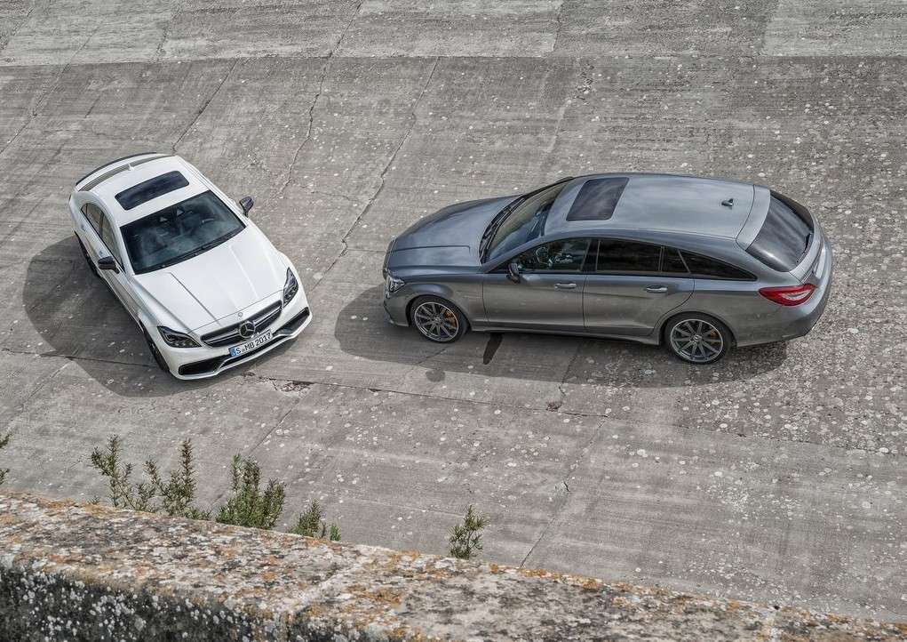 Mercedes CLS e Shooting Brake restyling