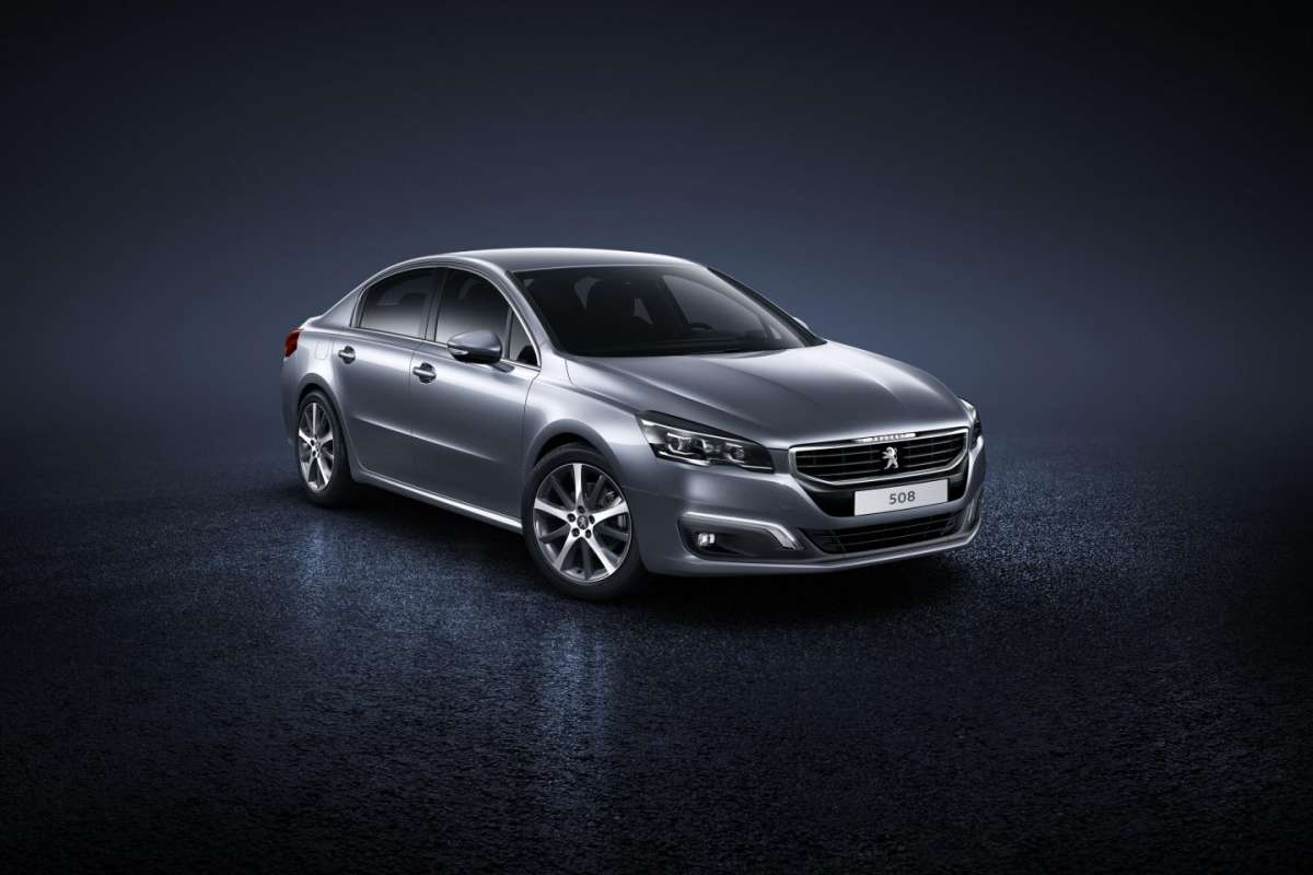 Peugeot 508 berlina, restyling 2016