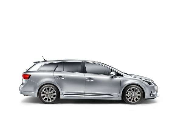 Laterale dell'Avensis Wagon