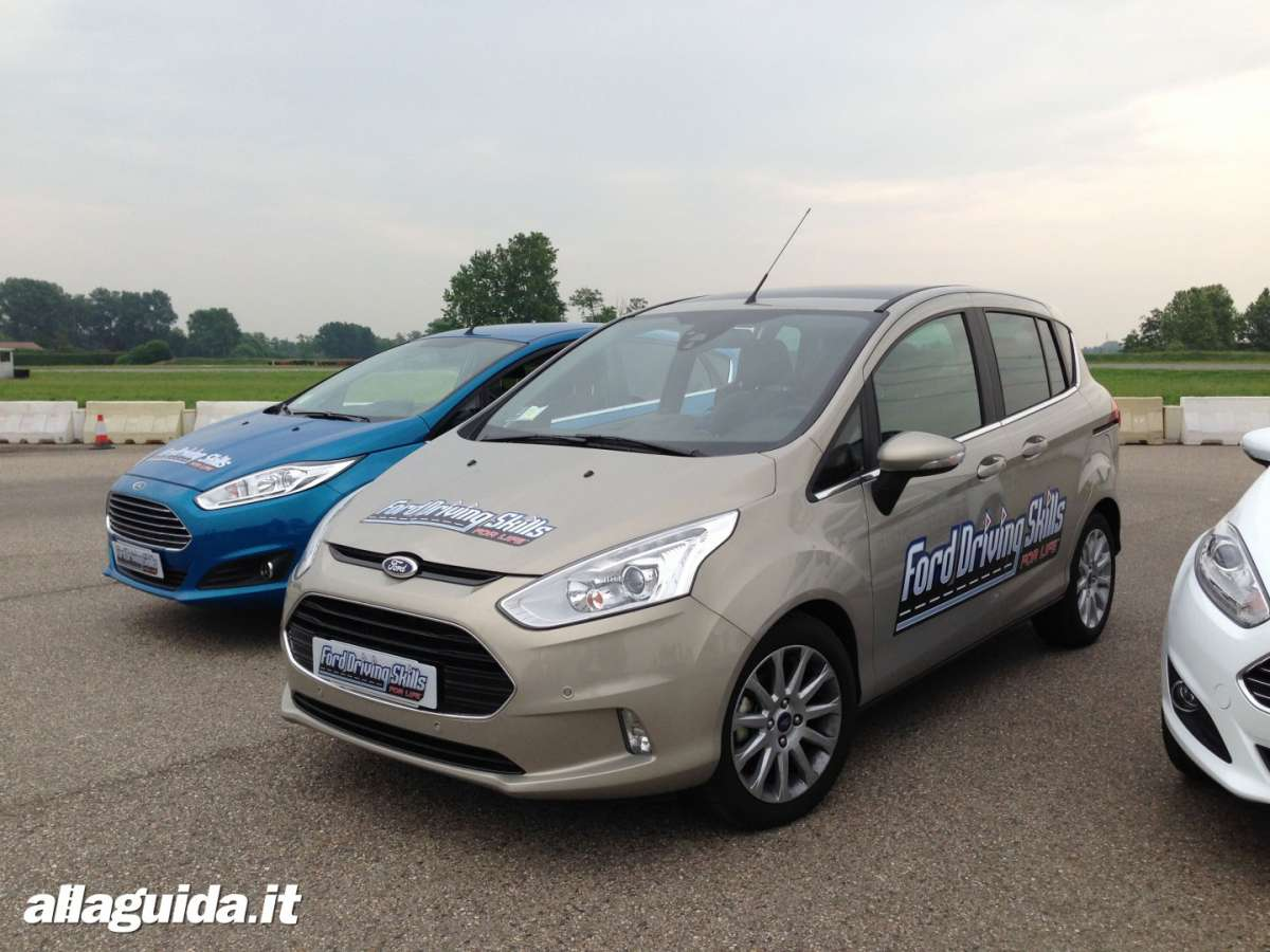 Ford Driving Skills For Life Ford B-Max