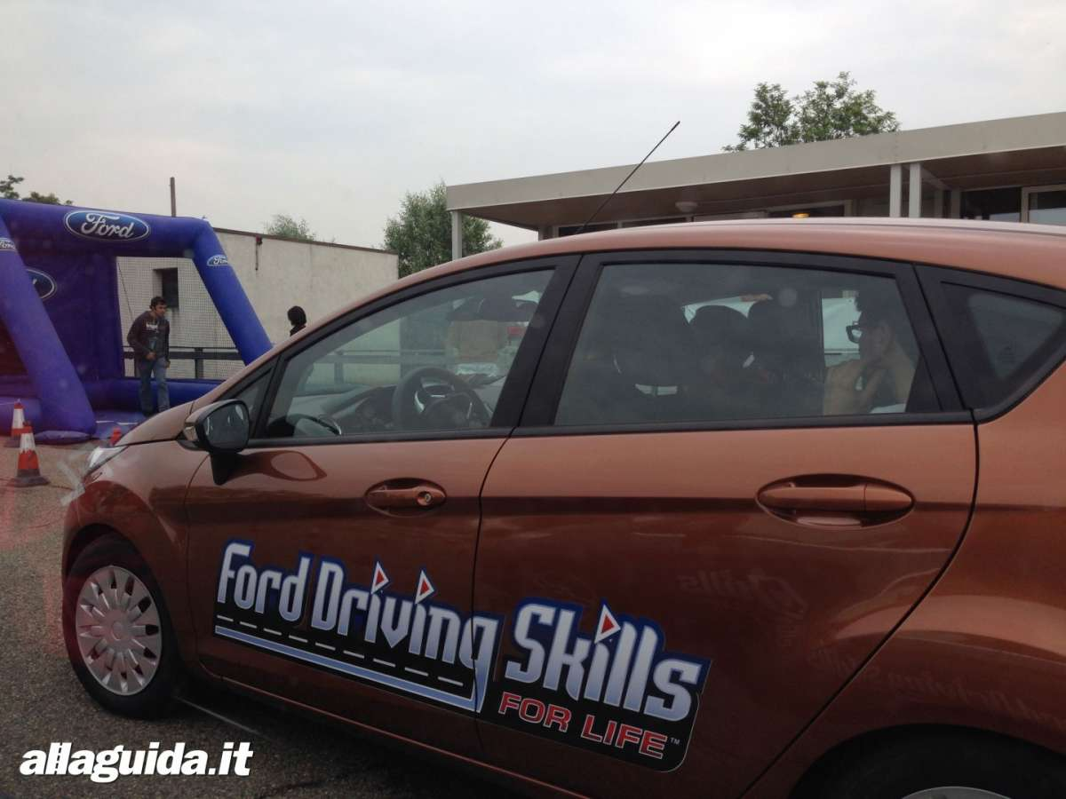 Fiesta della Ford Driving Skills For Life Vairano 2014