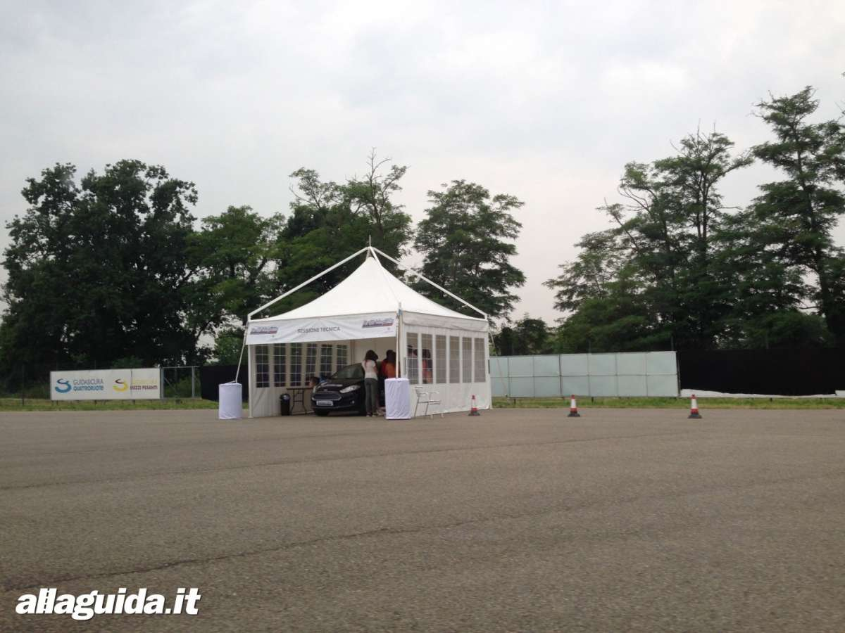 Sezione tecnica Ford Driving Skills For Life