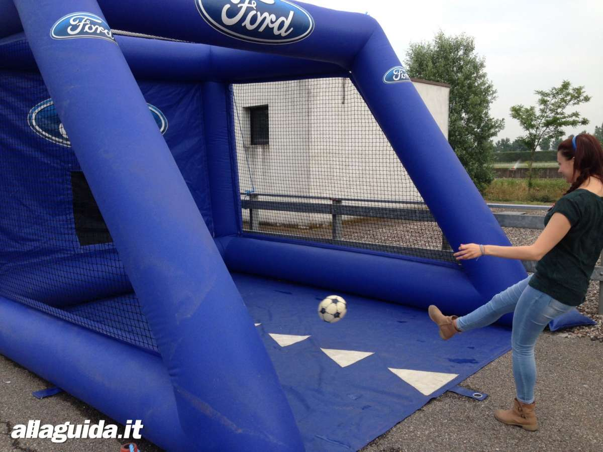 Ford Driving Skills For Life porta da calcio