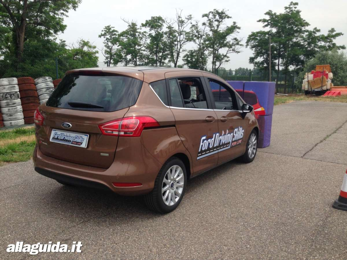 Active City Stop su Ford B-Max