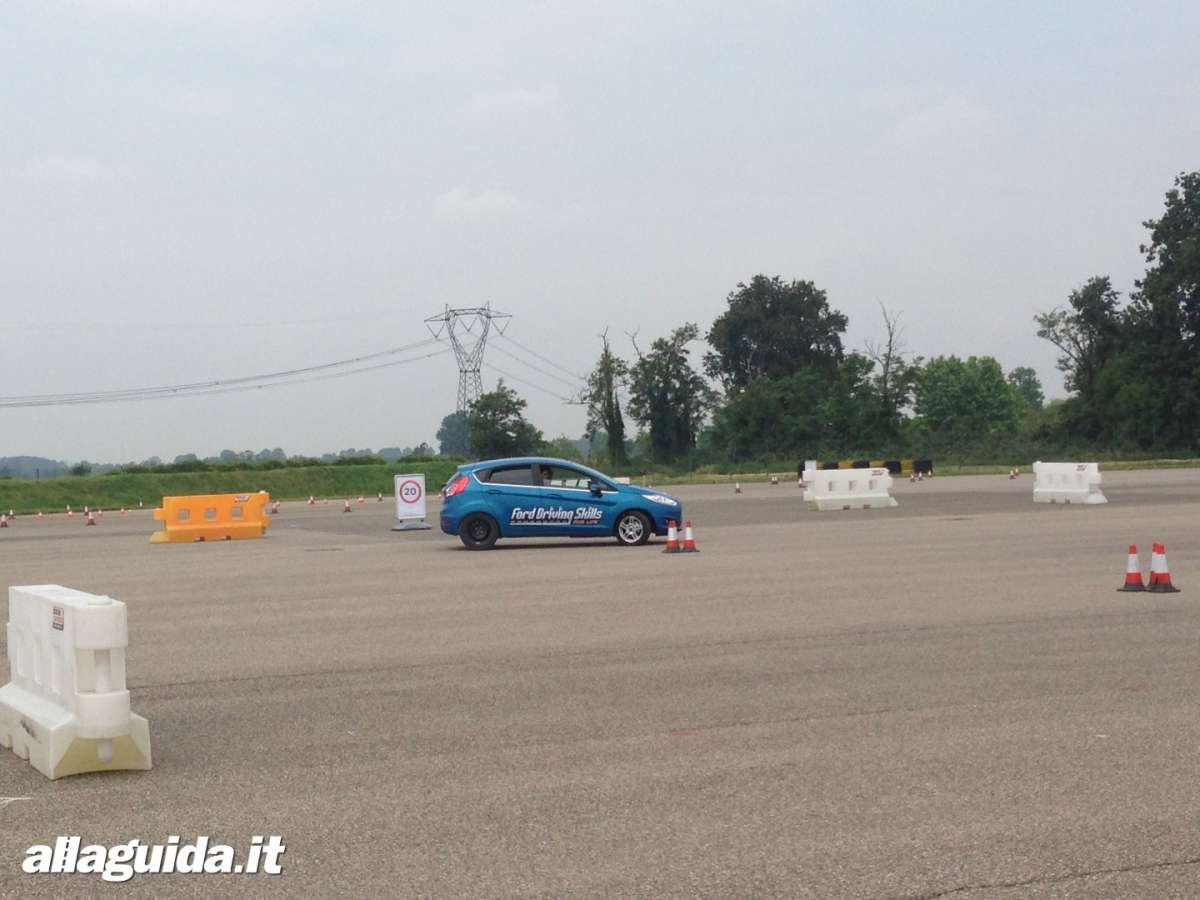 Ford Driving Skills For Life test handling