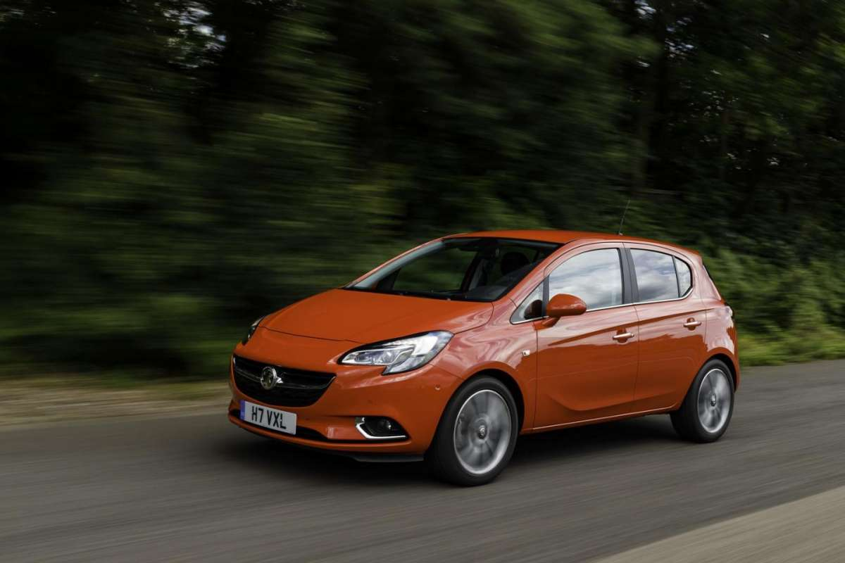 Anteriore ispirato all'Opel Adam