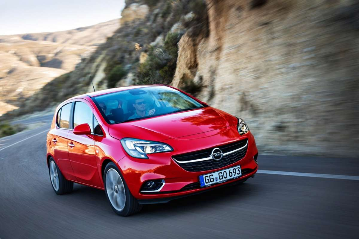 Opel Corsa 2015 restyling