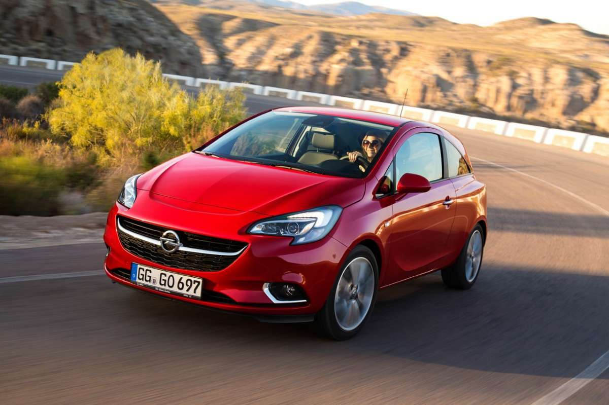 Opel Corsa 2018 anteriore restyling