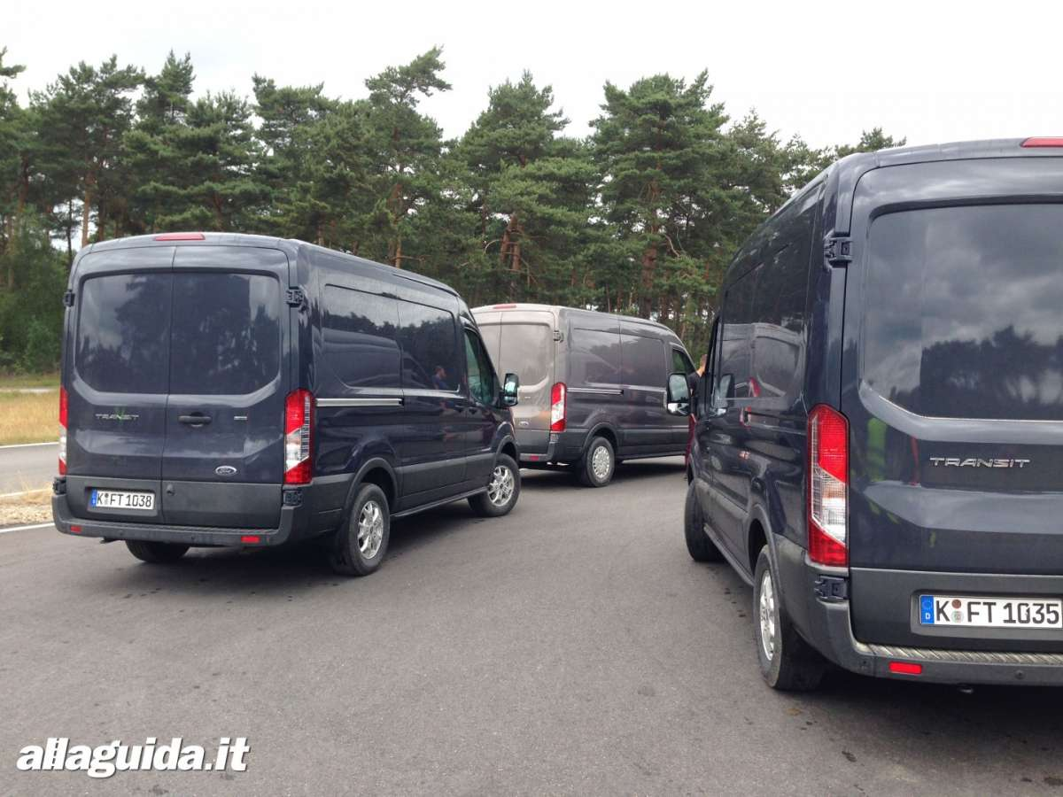 Nuovo Ford Transit 2014 test drive