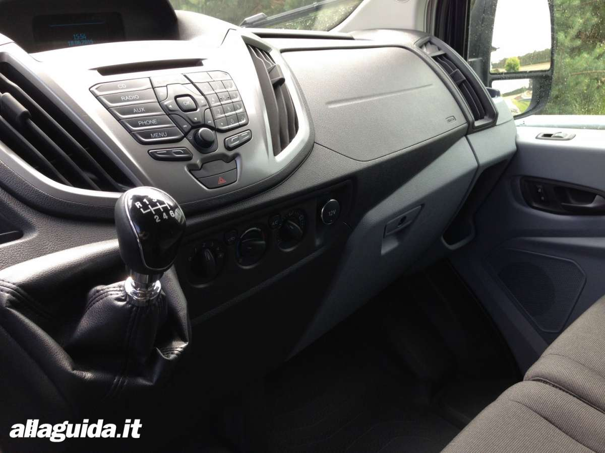 Consolle centrale Ford Transit 2014