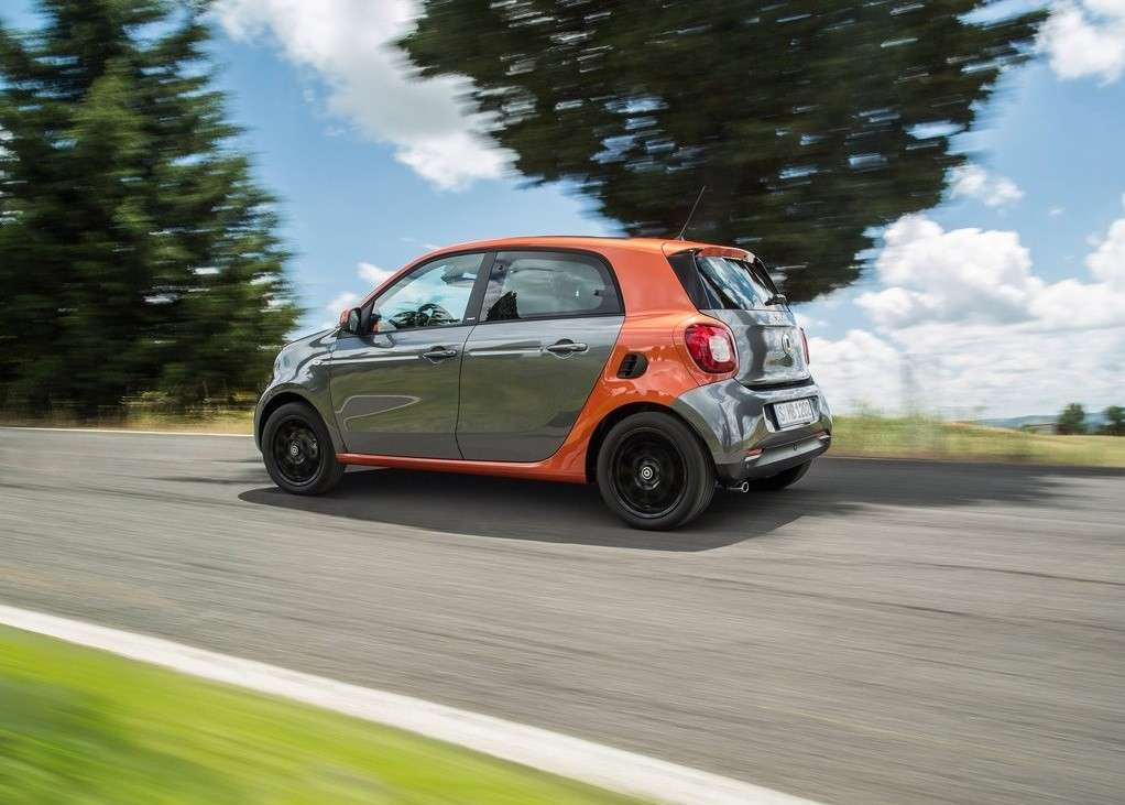 motore posteriore Smart Forfour