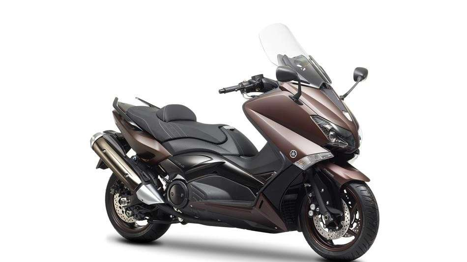 Yamaha T-Max laterale anteriore