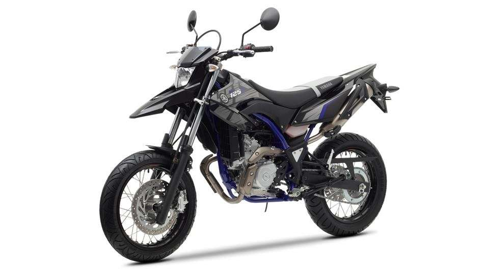 Yamaha WR 125X laterale anteriore