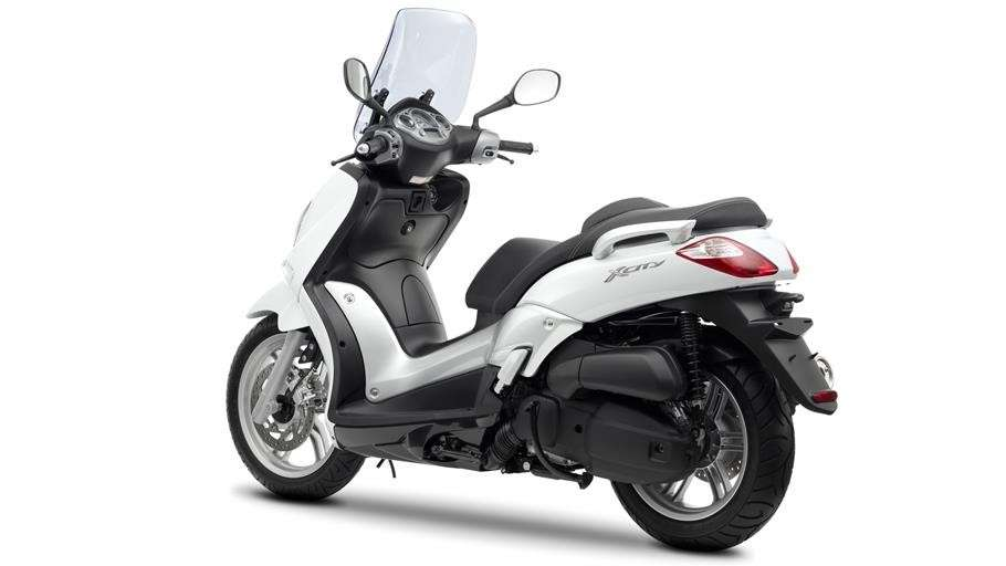 Yamaha X-City laterale posteriore