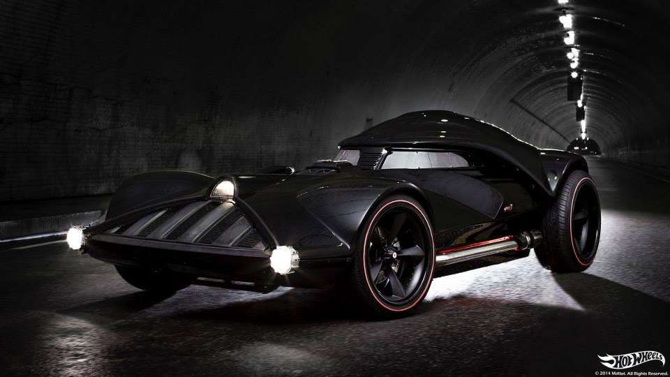 Auto di Darth Vader by Hot Wheels