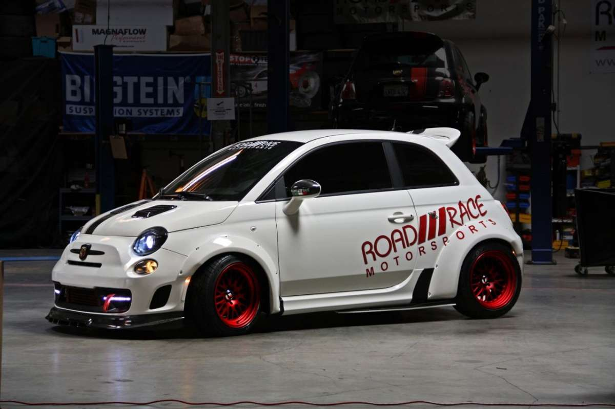 Abarth 500 Road Race Motorsports