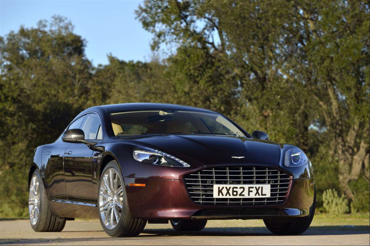 Aston Martin Rapide S 2015 amethyst red
