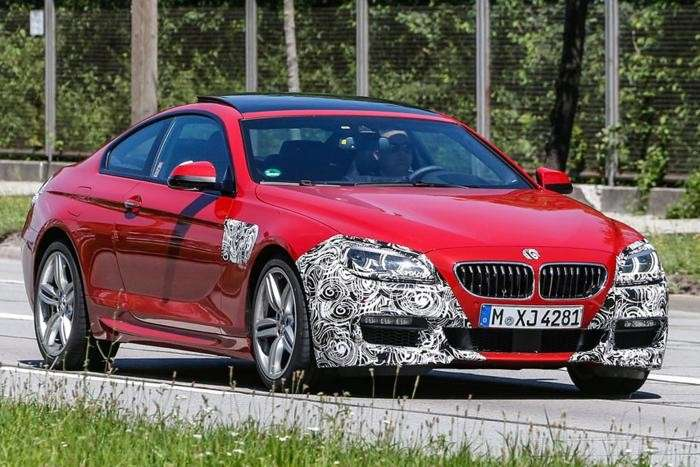 BMW Serie 6 2015 restyling foto spia