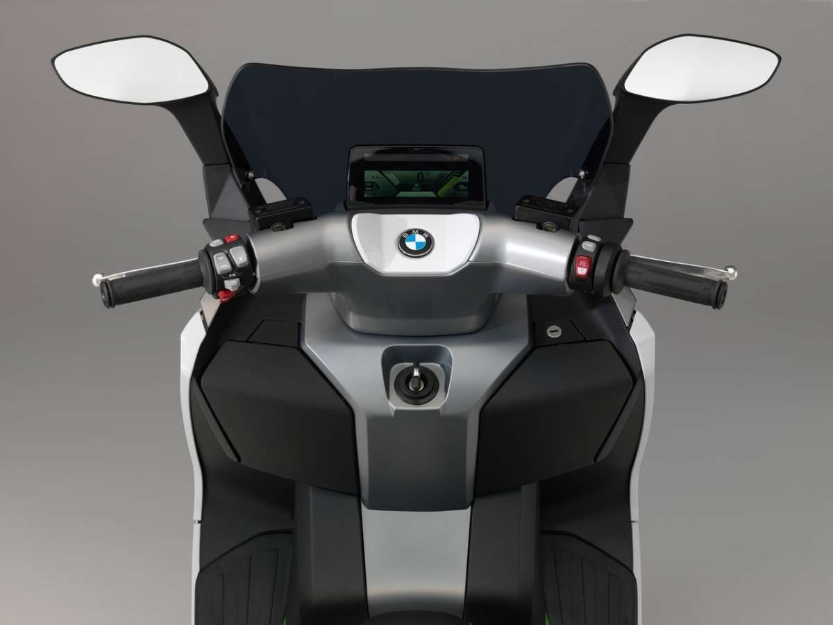 Bmw C Evolution manubrio
