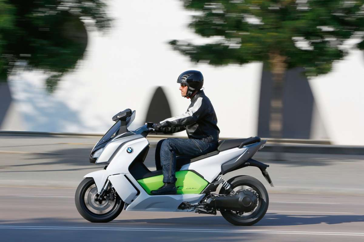 Bmw C Evolution guidato