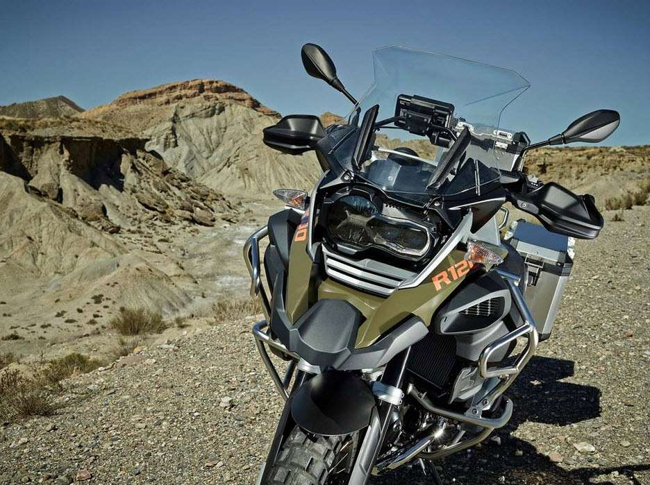 BMW R 1200 GS frontale