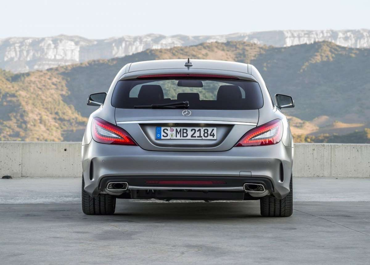 Retro di CLS Shooting Brake