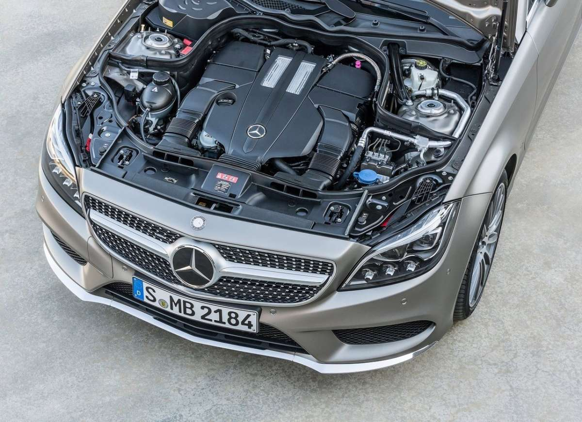 Motore di CLS Shooting Brake