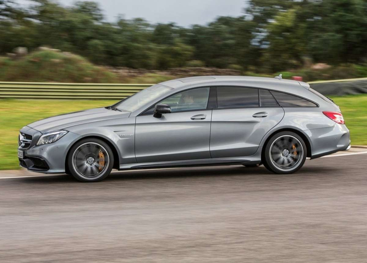 Laterale del CLS Shooting Brake AMG 2014