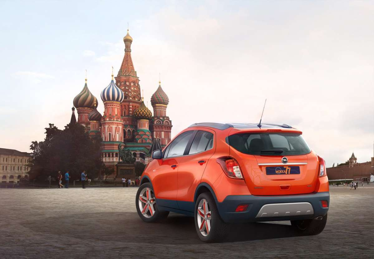 Opel Mokka Moscow Edition posteriore