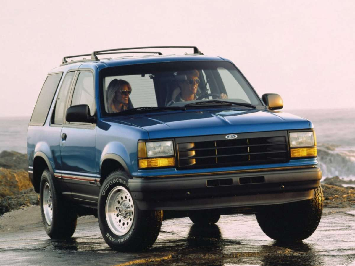 Ford Explorer frontale