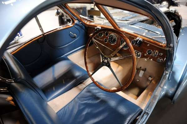 Bugatti Type 57 S Atlantic interni