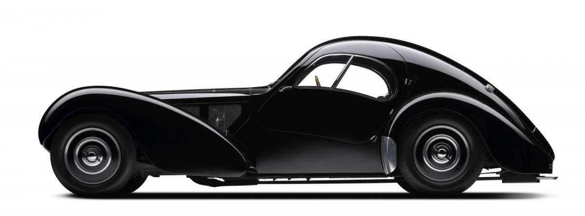 Bugatti Type 57 S Atlantic dimensioni